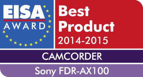 EISA Award 2014_FDR-AX100 von Sony