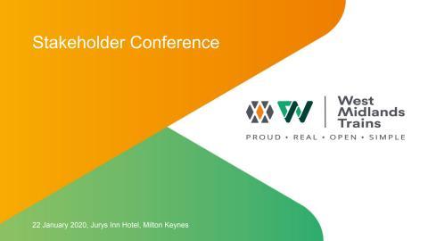 LNR Stakeholder Conference 2020 - Slide Deck