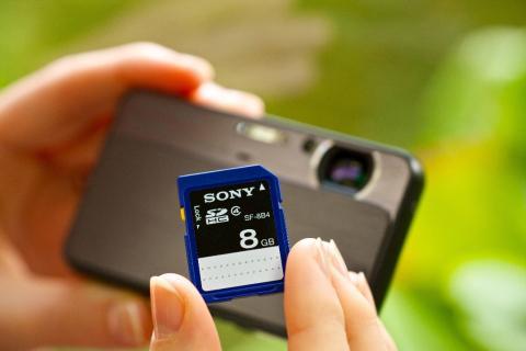 SDHC-Karte_SF8B4 von Sony