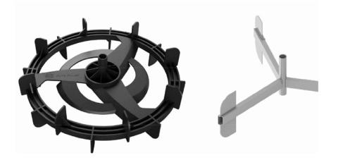 "What's the different between JK's ""Pure Power Impeller"" water rowing system and traditional ""Stainless Impeller""?"