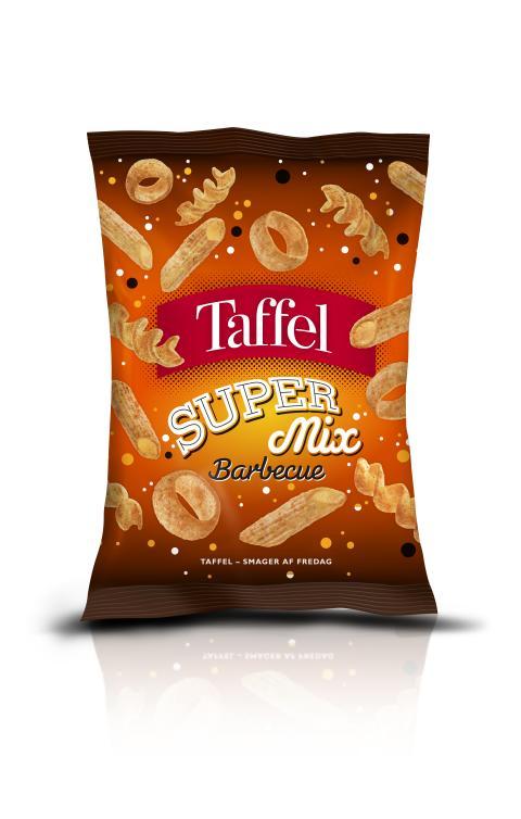 Taffel Super Mix BBQ 110g