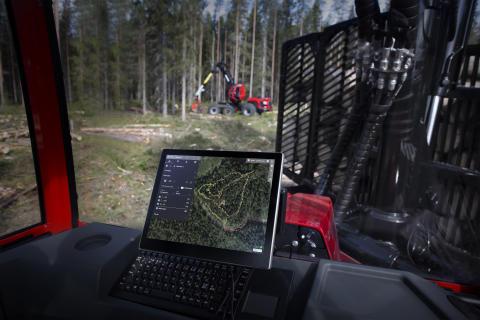 Innovativt samarbete skapar nya beslutsunderlag för skogsmaskinförare