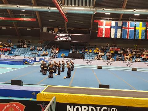 Brommagymnasterna mix NM guld 2019