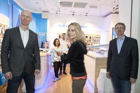 Telenor ruller ut 77 nye butikker