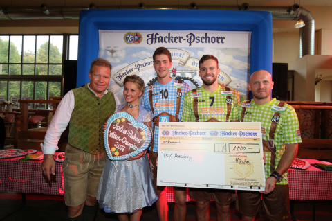 Herrschings Volleyballer sind Hacker-Pschorr Wiesn-Champions