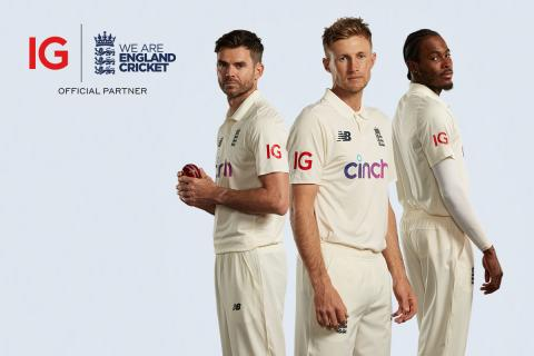 IG partners with England Cricket in pursuing new levels of performance and success