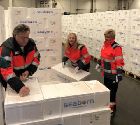 Norsk sjømat runder 100 milliarder