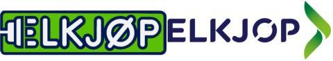 Gammel og ny Elkjøp-logo
