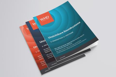 WHD Digitaler Workshop Unsichtbare Soundsysteme: 3 Broschüren