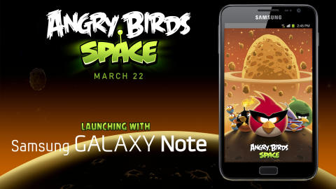 Angry Birds Space - Samsung Galaxy Note