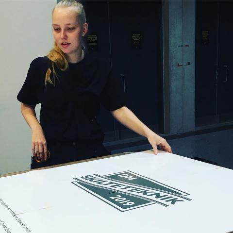 Sofie Jacobsen vinder DM i skilteteknik