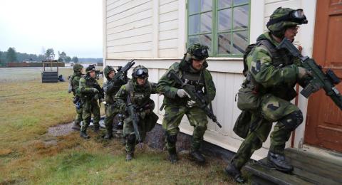 Nordic Battlegroup redo – drygt 1900 svenskar i höjd beredskap