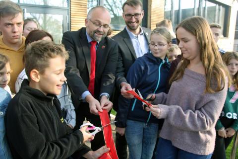 Schwanebecker Oberschüler beziehen neues Gebäude