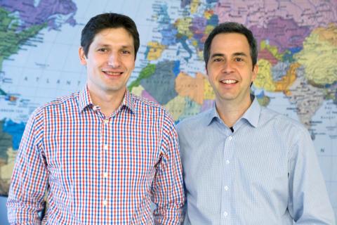 Gründer von TRASTY: Oliver Rechner (CTO) und Christoph Schotter, CEO (v.l.)