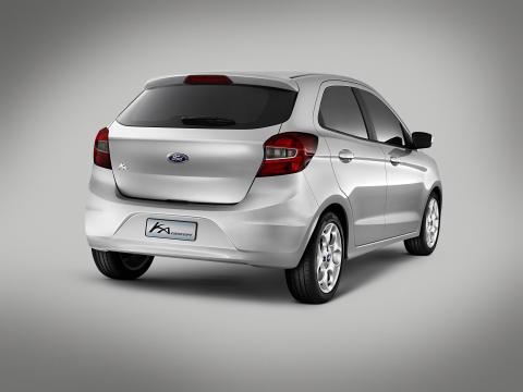 Ford Ka Concept ble vist for første gang i Barcelona 5. des.