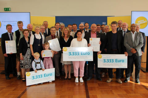 Bürgerenergiepreis für drei Vorbilder aus Niederbayern