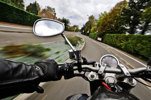Motorräder auf der Tagesordnung