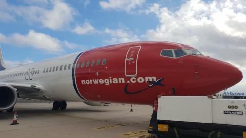 Llegó hoy al país el segundo avión de Norwegian Air Argentina