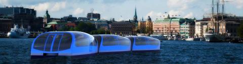 Vattenburen kollektivtrafik - så ska Stockholm lyckas