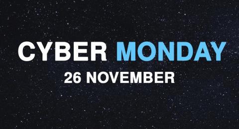 Bild med länk till Evenemangssida Cyber Monday 2018 hos Poly-Produkter