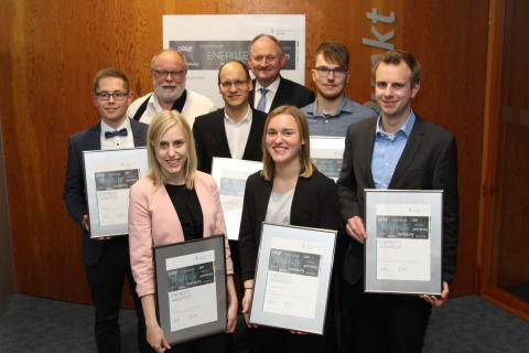 Jungakademiker aus der Region erhalten Energy Award 2019