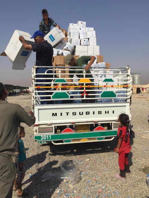 Mosul platsen för nästa flyktingkatastrof