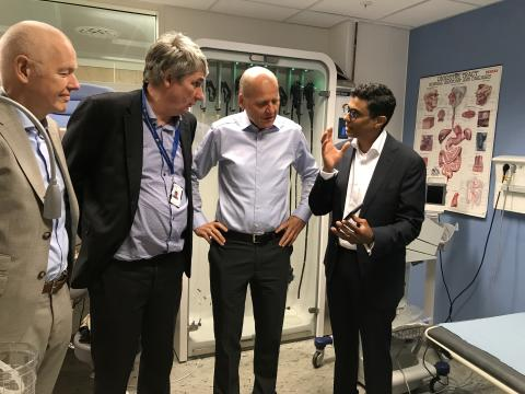   Digitalising healthcare for medical staff and patients