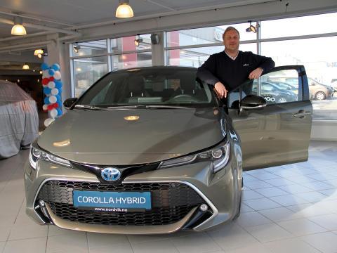 Toyota ble salgsvinner i Bodø
