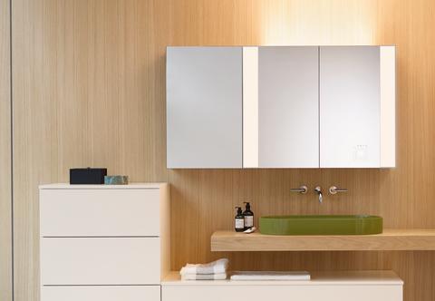 Produktinnovationen wie der Spiegelschrank RL40 machen den Unterschied