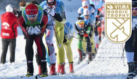 Nytt skidlopp ökar spänningen i Visma Nordic Trophy
