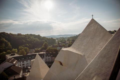 TORKRET, Mariendom pilgrimage church in Neviges
