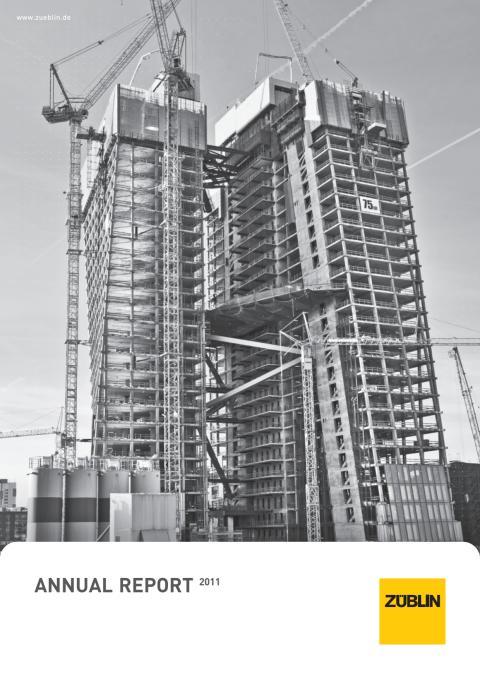 Annual Report ZÜBLIN (2011)