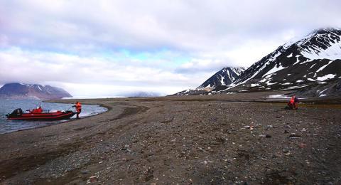 Avloppsrening på Svalbard tar bort 99 procent av mikroskräpet