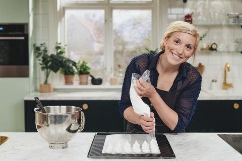 Inspireras av kocken och konditorn Tea Malmegård