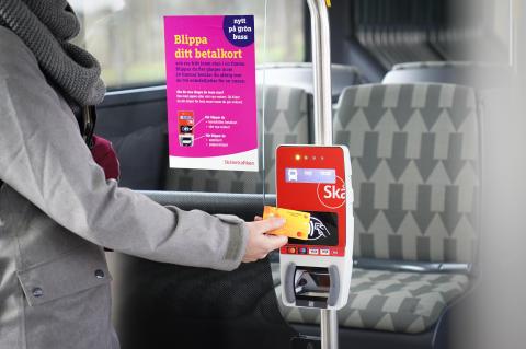 Blippa gör det lättare att åka stadsbuss i Helsingborg