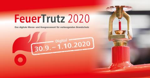 FeuerTrutz Fachmesse 2020 findet digital statt!