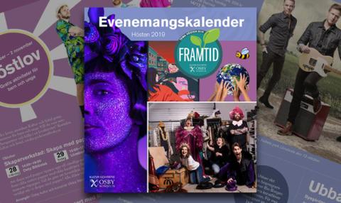 Evenemangskalender hösten 2019