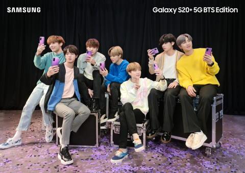 I Purple You – Nå slipper Samsung BTS Edition i Norden