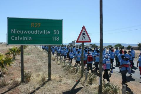Discovery Sports Heroes Walk Against Aids