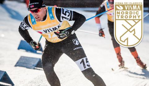 Visma pääsponsorina Ylläs-Levin kilpailussa - Visma Nordic Trophyn finaalissa