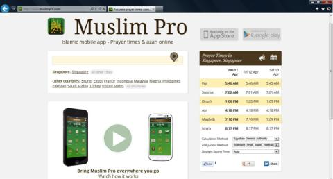 Faithfully By Your Side - Muslim Pro Helps Keeping In Touch With Your Belief Via Mobile Apps Or The Web