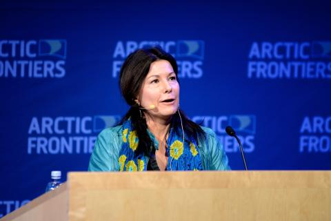 Arctic Frontiers Policy 2015, Samantha Smith, WWF Global Initiative on Climate and Energy