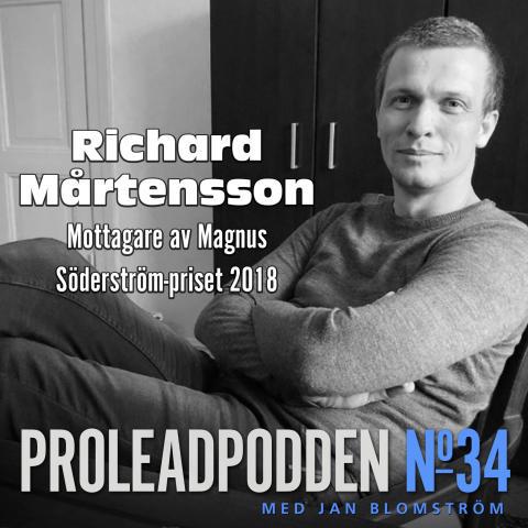 2018 års mottagare av Magnus Söderströms-priset