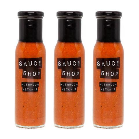 Sauce Shop – Krämig ketchup av Portabellosvamp