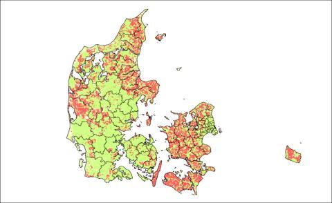 Flere danskere har mulighed for højere bredbåndshastigheder