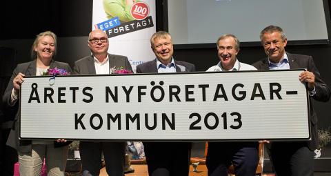 Uppvidinge Årets nyföretagarkommun 2013