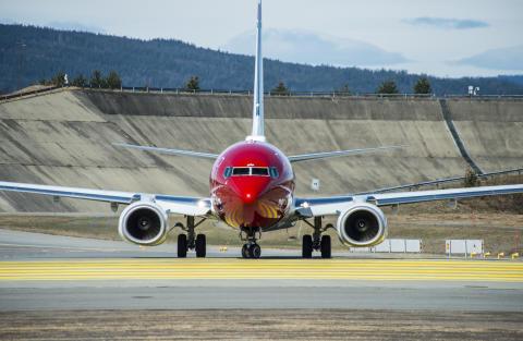 Norwegian-fly i Oslo