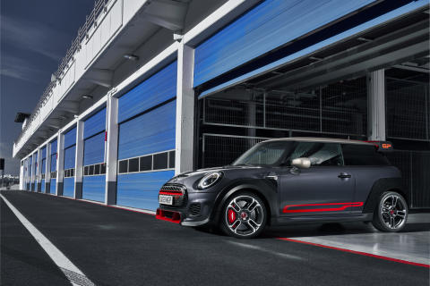MINI John Cooper Works GP: Maksimeret MINI