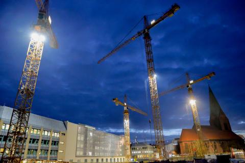 Nachtbaustelle 00003 ©Landeshauptstadt Kiel - Bodo Quante