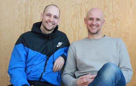Simon Dahl and Mikael Östberg, founders Memotus